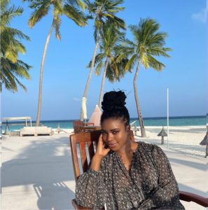 Photos of Bashir El-Rufai and his wife, Nwakego on baecation