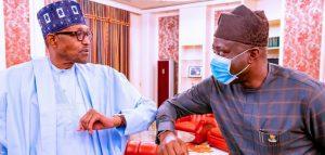 Breaking: Buhari Meets Makinde, Akeredolu In Aso Villa Over Herdsmen