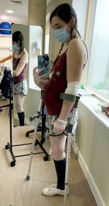 How Pregnant Woman Cuts Off Leg To Save Her Unborn Child